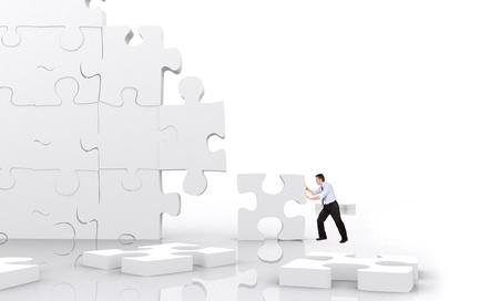 Bild: Puzzleteile zusammenschieben